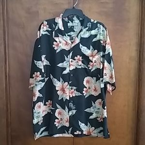 Tommy Bahama silk shirt men's XL